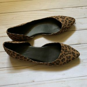 American Eagle Outfitters leopard flats
